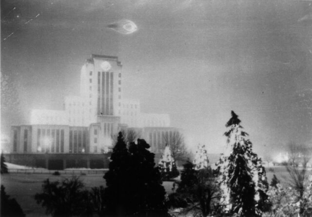 UFO Over Vancouver City Hall - 1937